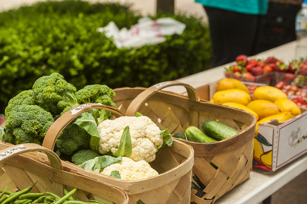 Duke Farmers Market, vegetables