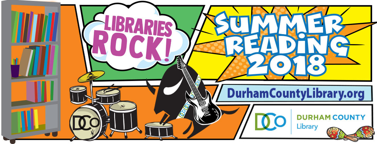 Library's Rock, Summer Reading Program logo
