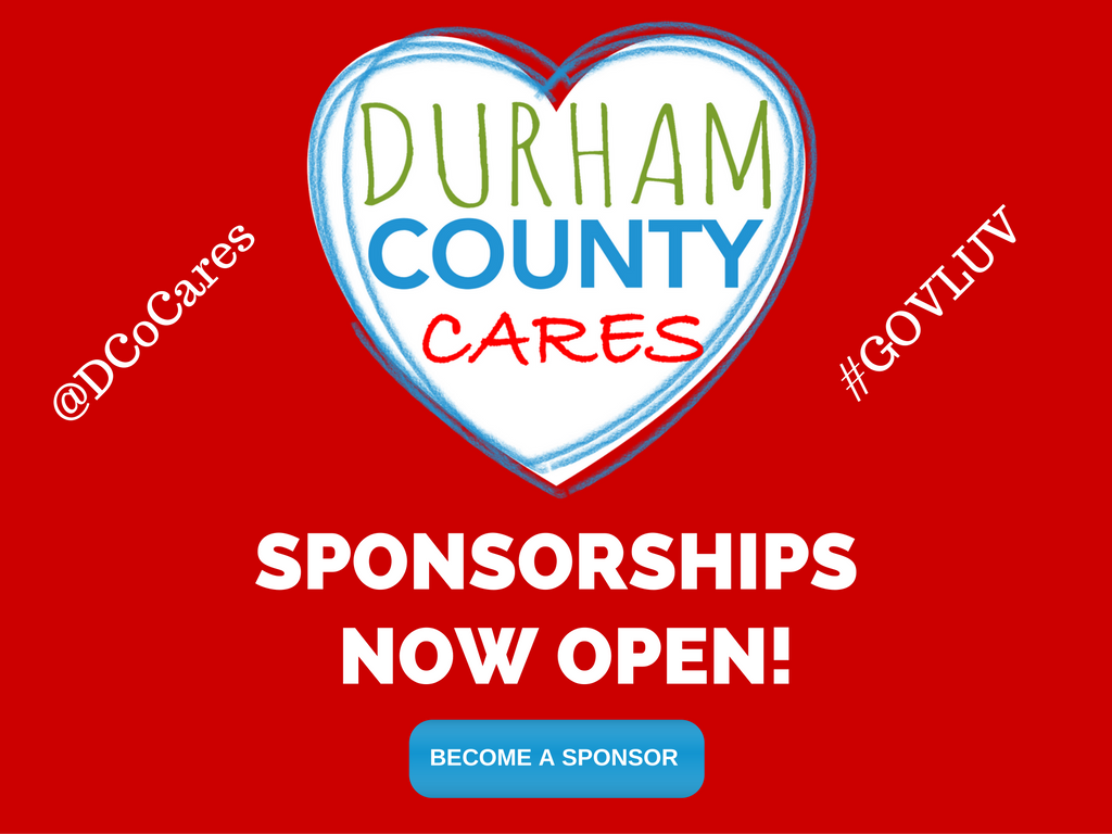 Durham County Cares sponsorships now open