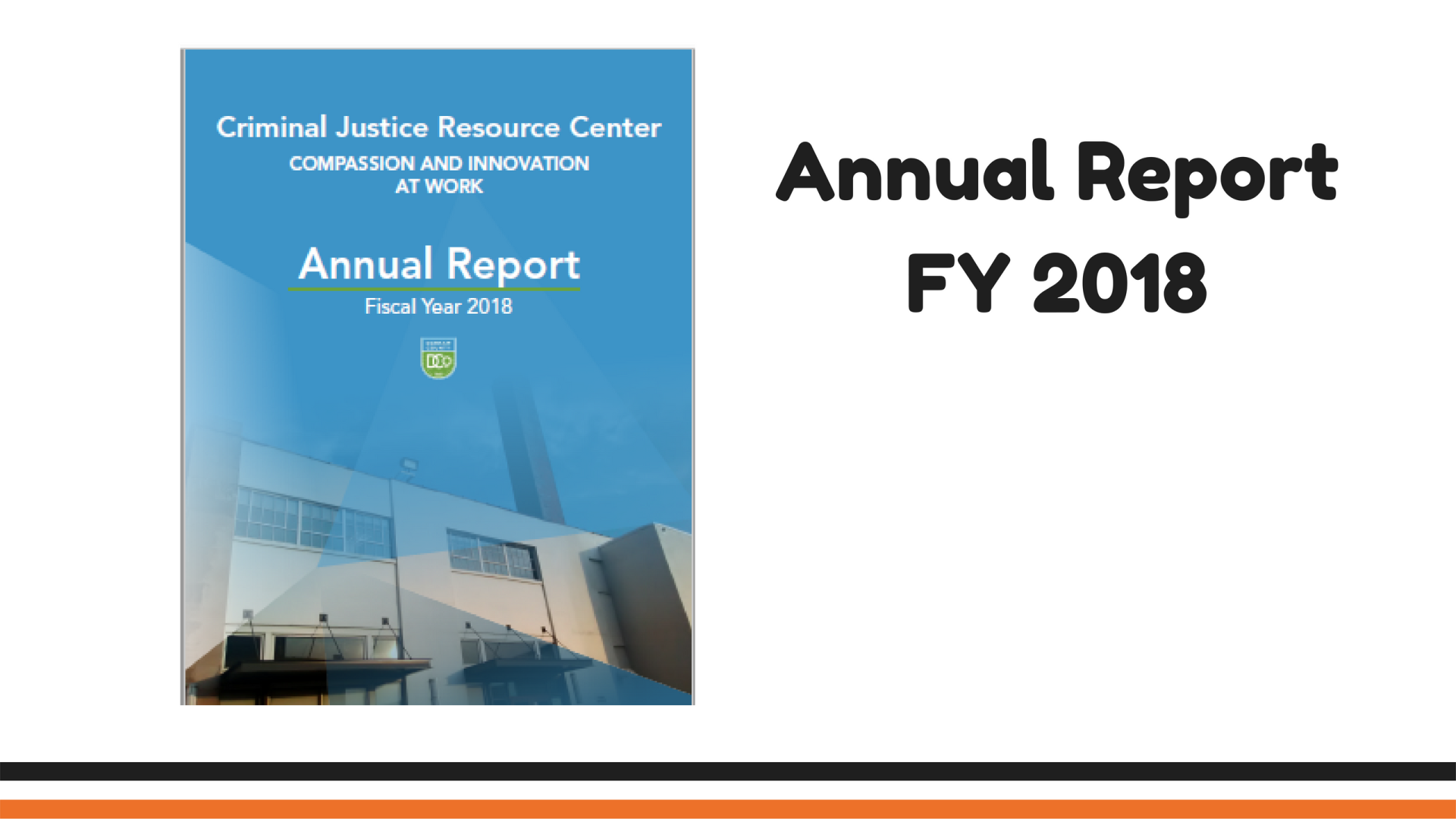 FY 2018 Annual Report