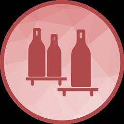 3035 - Bottles Shelf