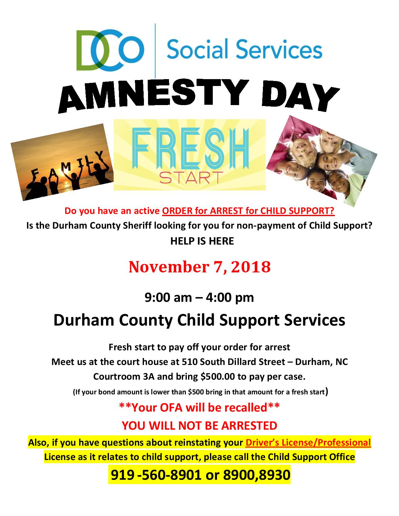 Social Services Durham County