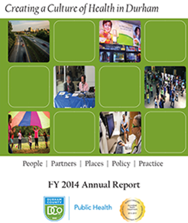 DCoDPH Annual Report FY2014 cover