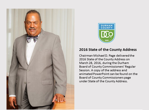 2016 State of the County