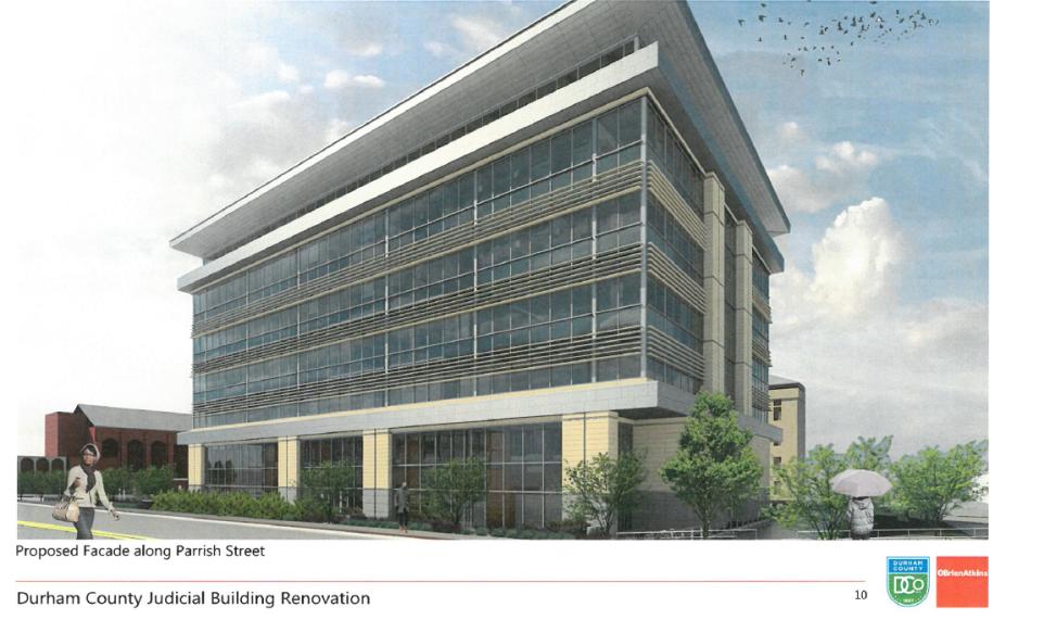 Judicial Building Renovations Durham County