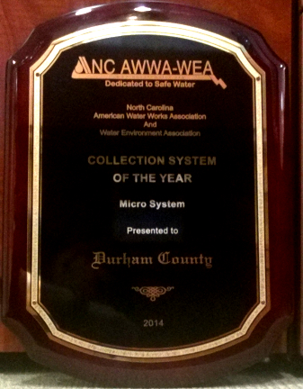 Wastewater Collection Systems Durham County