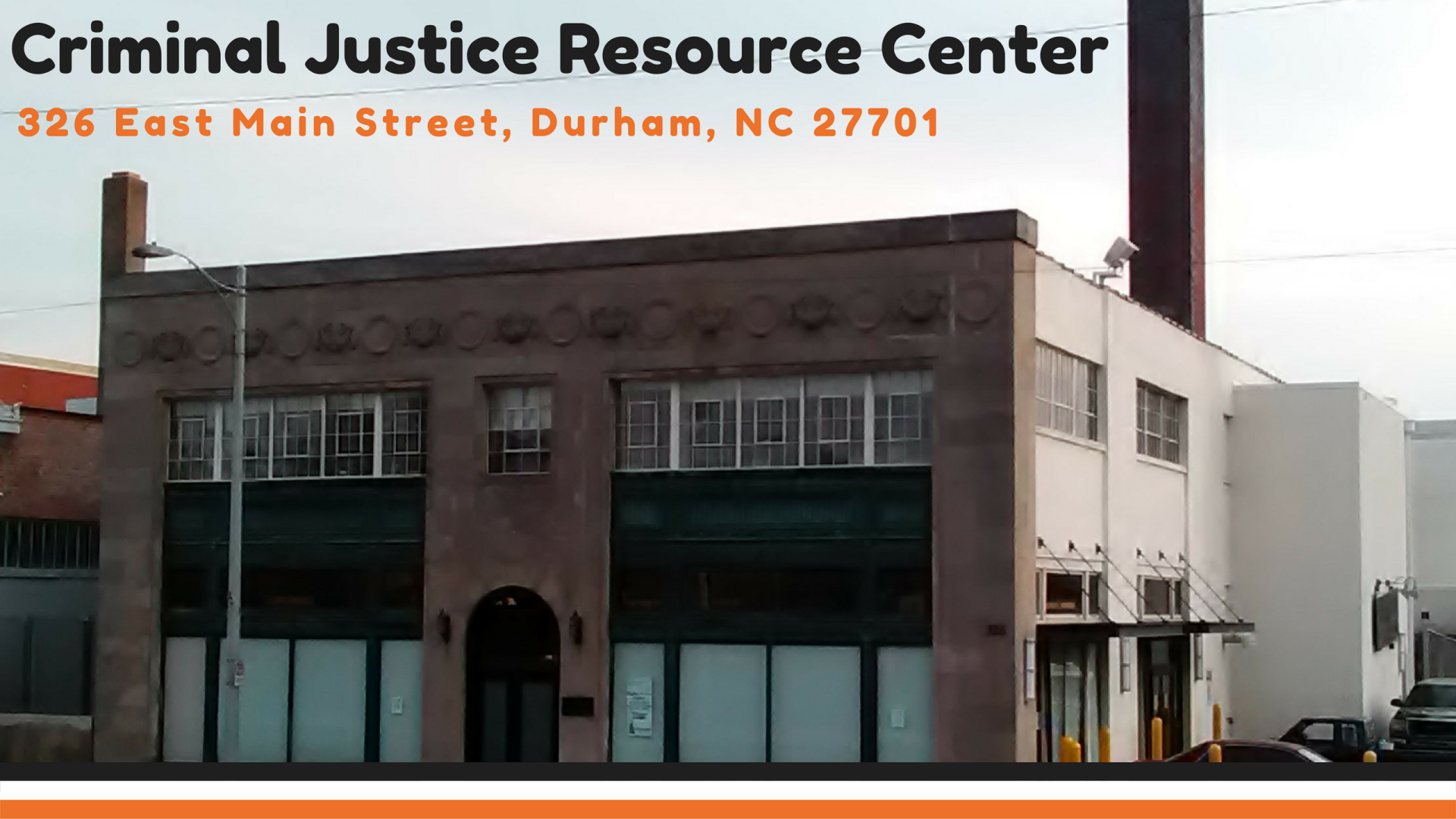 Criminal Justice Resource Center Durham County