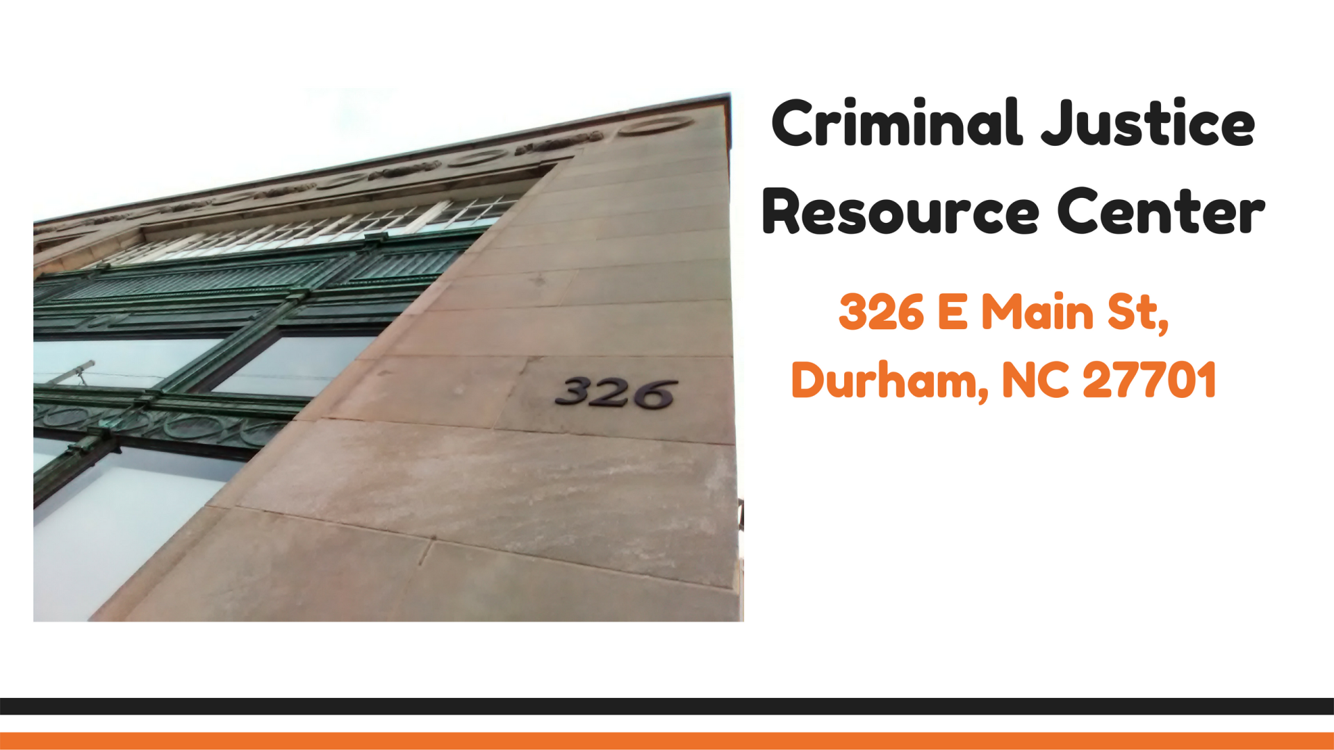 Criminal Justice Resource Center | Durham County