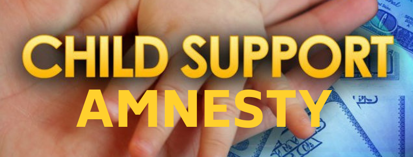 Child Support Amnesty banner