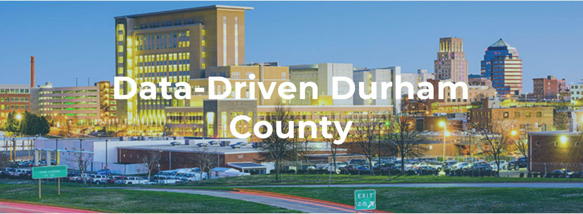 Data-Driven Durham County front