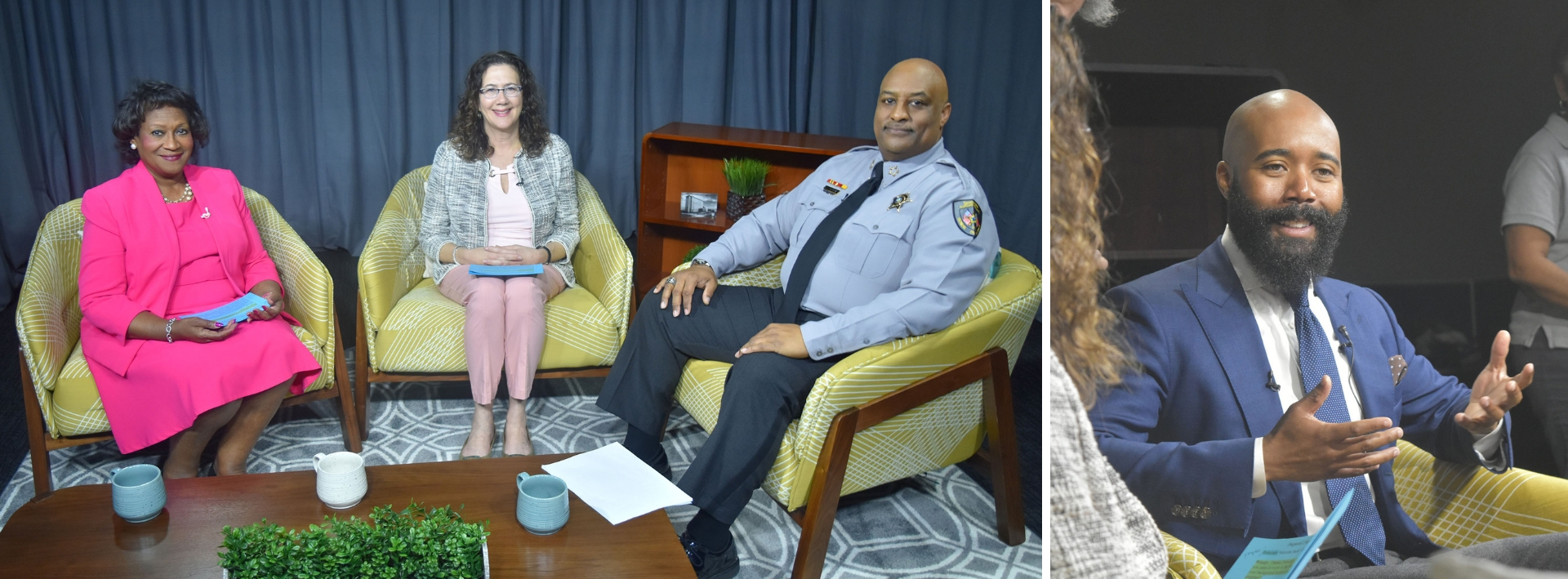 In Touch April 2019 Co-Hosts with Sheriff Clarence Birkhead and MBK Durham's Edmund Lewis