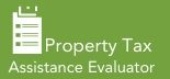 Property Tax Assistance Evaluator