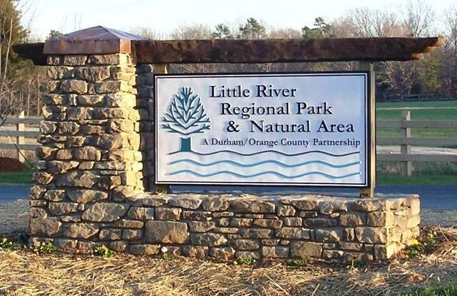 Little River Regional Park Sign