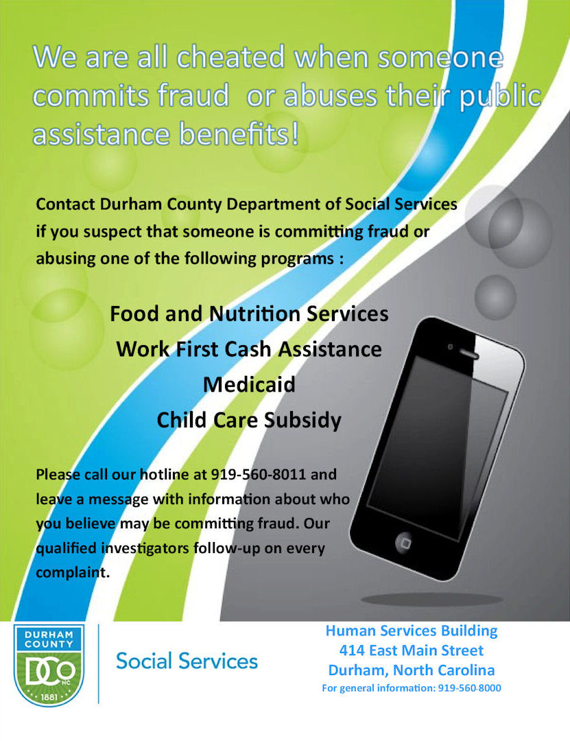 Report Fraud Durham County